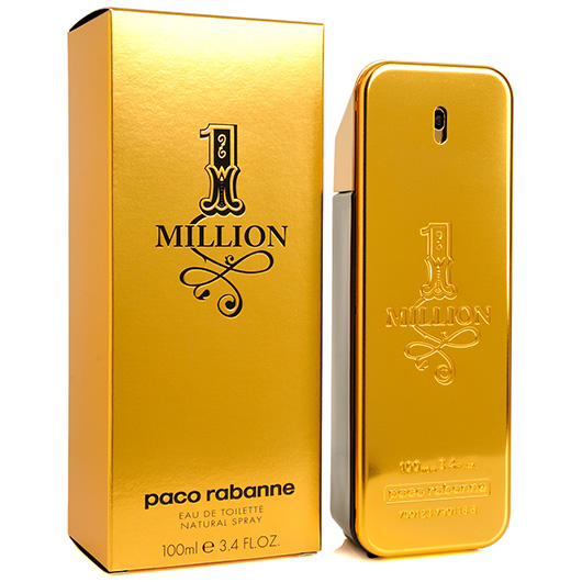 1 one million by paco rabanne edt perfume cologne spray. Black Bedroom Furniture Sets. Home Design Ideas