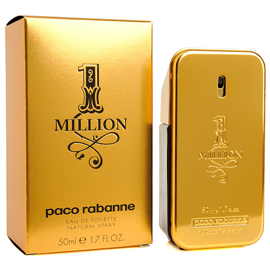 paco rabanne 1 million eau de toilette 50ml mens. Black Bedroom Furniture Sets. Home Design Ideas