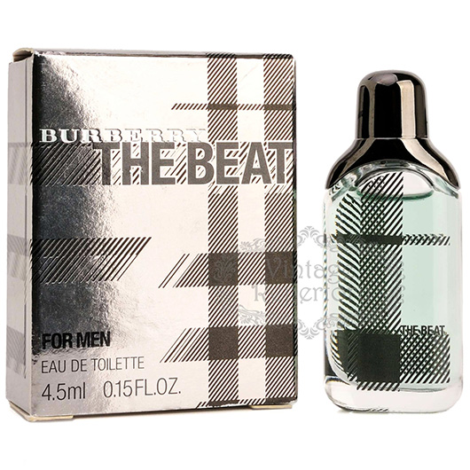 burberry perfume the beat eau de toilette mini s cologne parfum 0 15oz 4 5ml