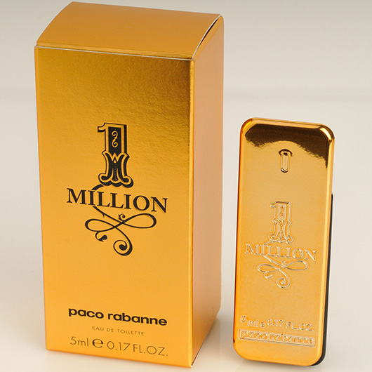 paco rabanne 1 million edt 5 ml mini men 39 s fragrances. Black Bedroom Furniture Sets. Home Design Ideas