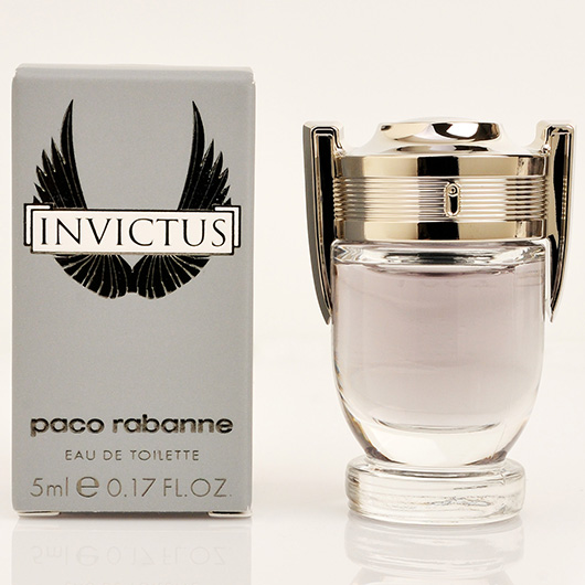 paco rabanne invictus edt mens fragrances mini perfumes
