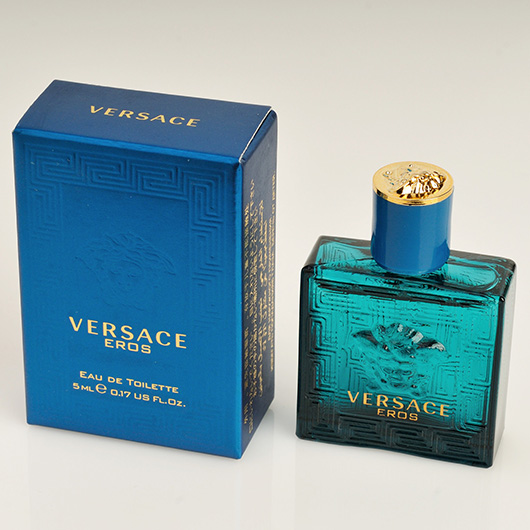 Versace perfume eros eau de toilette mini mens cologne for Cologne box template