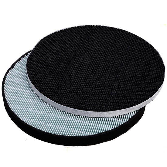 LG Air Purifier Compatible Replacement Hepa Filter for Round AS401VSA0 AS401VGA1