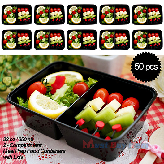 50 meal prep food plastic storage lunch box container reusable microwavable 22oz 8807949110300. Black Bedroom Furniture Sets. Home Design Ideas