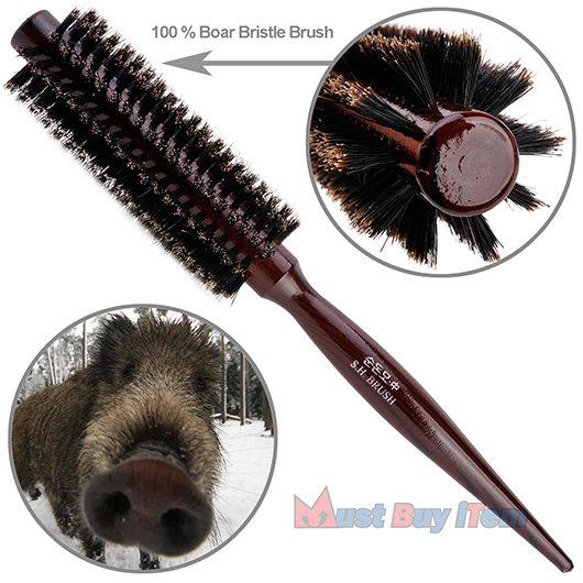 Best Natural Bristle Round Hair Brush
