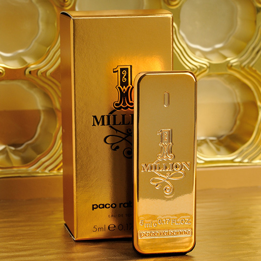 Paco Rabanne 1 Million Eau De Toilette 5ml 017oz Mini Men Cologne
